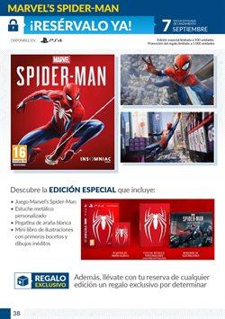 Ofertas de Spiderman  en el folleto de Game en Valencia