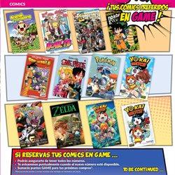 Ofertas de Libros y papelería  en el folleto de Game en Ourense