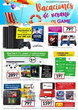 Ofertas de Game  en el folleto de Puerto del Rosario
