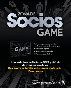 Ofertas de Game  en el folleto de Alcalá de Guadaira