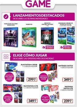 Catálogo Game en Huelva ( Publicado ayer )