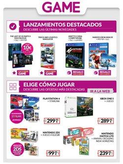 Ofertas de Informática y Electrónica en el catálogo de Game en Yecla ( 3 días más )