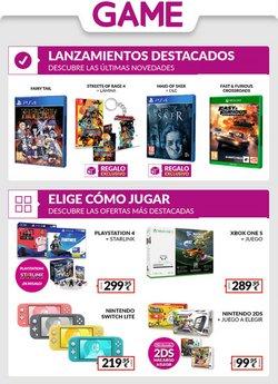 Ofertas de Informática y Electrónica en el catálogo de Game en Alameda ( Publicado ayer )