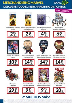 Ofertas de Marvel en Game