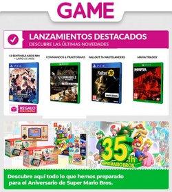 Catálogo Game ( 2 días más )