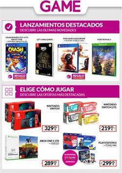 Catálogo Game en Antequera ( 3 días más )