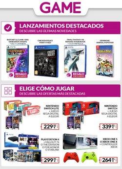 Ofertas de Informática y Electrónica en el catálogo de Game ( 2 días más)