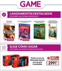 Ofertas de Informática y Electrónica en el catálogo de Game ( 3 días más)