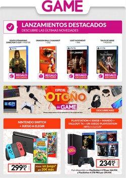 Ofertas de Game en el catálogo de Game ( 8 días más)