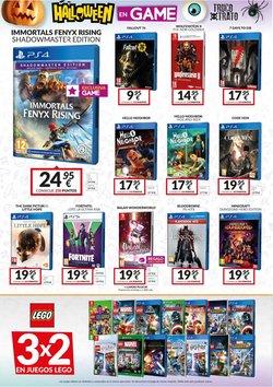 Ofertas de LEGO en el catálogo de Game ( 8 días más)