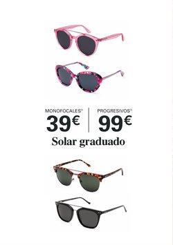 Ofertas de Gafas de sol  en el folleto de Optica Universitaria en Valencia