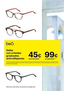 Ofertas de Gafas graduadas  en el folleto de Optica Universitaria en Madrid
