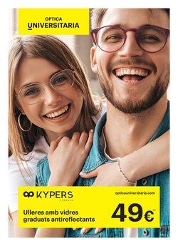 Ofertas de Salud y ópticas  en el folleto de Optica Universitaria en Ripollet