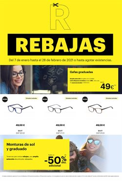 Ofertas de Gafas graduadas en Optica Universitaria