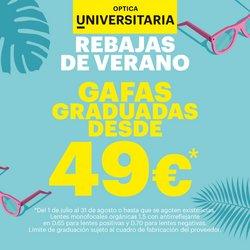 Catálogo Optica Universitaria ( 26 días más)