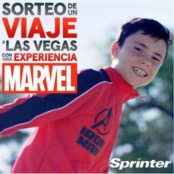 Ofertas de Destinos  en el folleto de Sprinter en Madrid