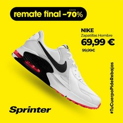 Ofertas de Nike en el catálogo de Sprinter ( Publicado ayer)