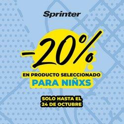 Ofertas de Deporte en el catálogo de Sprinter ( 6 días más)