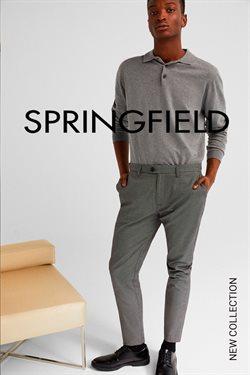 Ofertas de Moda hombre  en el folleto de Springfield en San Sebastián de los Reyes