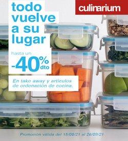 Ofertas de Hogar y Muebles en el catálogo de Culinarium ( Caduca mañana)