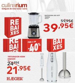 Catálogo Culinarium ( 2 días más)