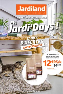 Ofertas de Hogar y Muebles en el catálogo de Jardiland en Tarragona ( 2 días más )