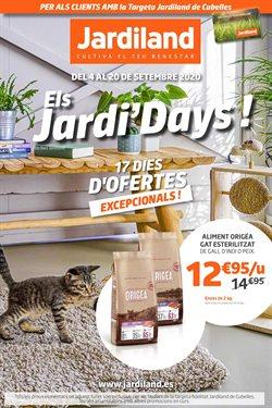 Catálogo Jardiland en Cubelles ( 2 días más )