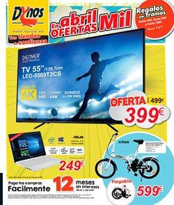 Ofertas de Bicicletas  en el folleto de Dynos Informática en León