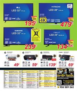 Ofertas de Hitachi  en el folleto de Dynos Informática en Tudela