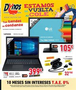 Ofertas de Dynos Informática  en el folleto de Córdoba