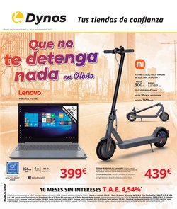 Ofertas de Informática y Electrónica en el catálogo de Dynos Informática ( 15 días más)