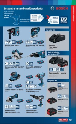 Ofertas de Bosch en el catálogo de BAUHAUS ( Más de un mes)