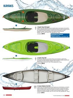 Ofertas de Kayak  en el folleto de BAUHAUS en Madrid
