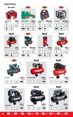 Ofertas de Compresor de aire  en el folleto de BAUHAUS en Madrid