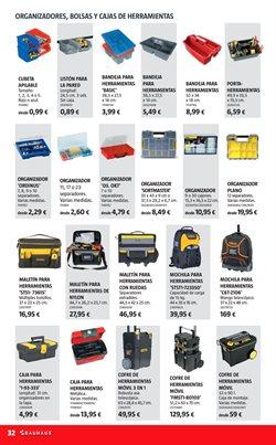 Ofertas de Caja de herramientas  en el folleto de BAUHAUS en Madrid