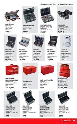 Ofertas de Cajas  en el folleto de BAUHAUS en Madrid