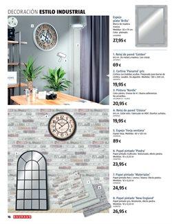 Ofertas de Reloj decorativo  en el folleto de BAUHAUS en Madrid