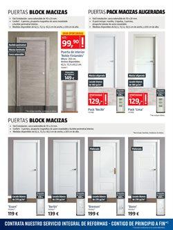Ofertas de Puerta lacada  en el folleto de BAUHAUS en Madrid