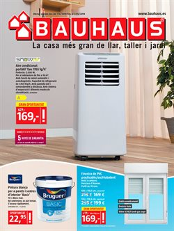Ofertas de Jardín y bricolaje  en el folleto de BAUHAUS en Calella