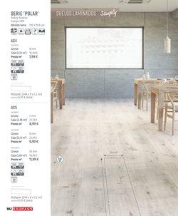 Ofertas de Suelos laminados  en el folleto de BAUHAUS en Barcelona