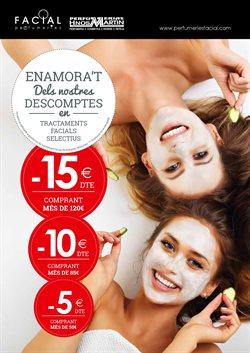 Ofertas de Perfumeries Facial  en el folleto de Badalona