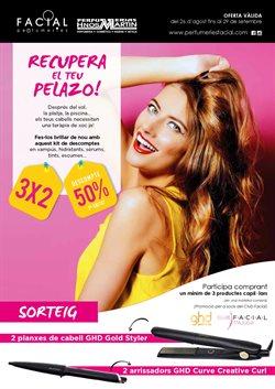 Ofertas de Perfumeries Facial  en el folleto de Cornellà