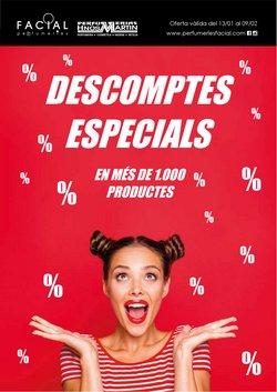 Ofertas de Perfumeries Facial  en el folleto de Sitges