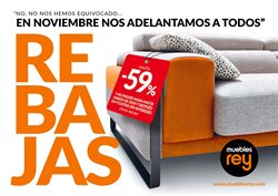 Ofertas de Hogar y muebles  en el folleto de Muebles Rey en Zamora