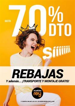 Ofertas de Muebles Rey  en el folleto de Zaragoza