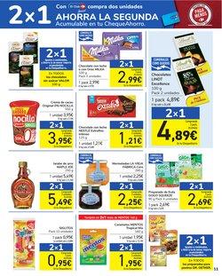 Ofertas de Lindt en el catálogo de Carrefour ( Caduca mañana)