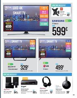 Ofertas de Televisores  en el folleto de Carrefour en Málaga