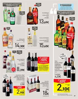 Ofertas de Whisky  en el folleto de Carrefour en Madrid