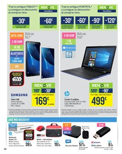 Ofertas de Tablet Samsung  en el folleto de Carrefour en Madrid