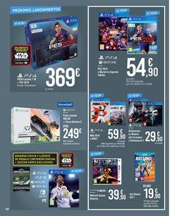 Ofertas de Wii  en el folleto de Carrefour en Alcoi